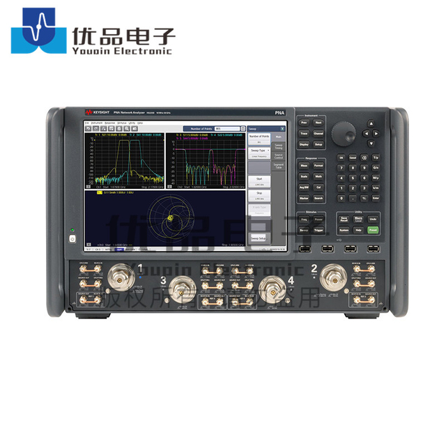 Keysight N5225B PNA 微波网络分析仪,4端口